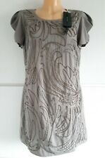 Ladies Marks & Spencer Autograph £55 Beaded Party Evening Shift Dress Size 14