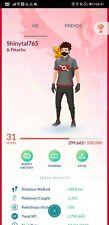 Pokémon Go PTC account shiny meltan shiny Pikachu hat regirock regice cobalion