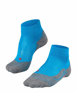 Falke TK5 SHORT Damen Trekking Socken, Turquoise