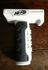 White Retaliator Nerf strike Assault Bipod Handle Force Grip Rail Gun Stryfe toy