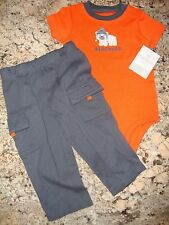 Baby Boys' Clothing Two Piece Bodysuit and Pant Set Kids' Size 9 Months