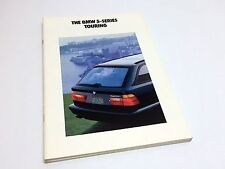 1992 BMW 5-Series 525i Touring E34 Brochure