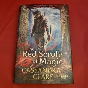 The Red Scrolls of Magic (Eldest Curses) Cassandra Clare Signed Exclusive HB NEW