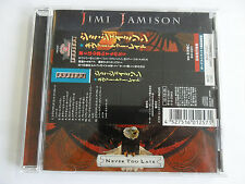 Jimi Jamerson - Never too Late - (Japan Version with OBI Stripe) - CD