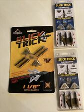 Slick Trick Magnum 1-1/8� Deep Six Broadheads