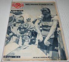 MIROIR SPRINT 633 1957 CYCLISME TOUR FRANCE PHOTOS EQUIPES ANQUETIL BOXE HAMIA