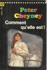 PETER CHEYNEY COMMENT QU'ELLE EST !