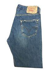 Original Levi's 501 ® Limited Ed Straight Leg Blue Denim Jeans W34 L32 ES 6754