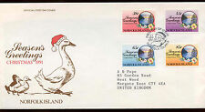 Norfolk Island 1991 Christmas FDC First Day Cover #C14001
