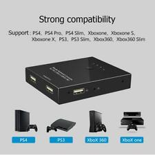 Mouse and Keyboard Converter Adapter for PS4 (Pro)/PS3/XBOX ONE/XBOX 360 Switch