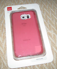 OEM High Gloss Silicone Case Cover For Samsung Galaxy S6 - Pink
