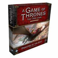 Dragones de La Este Expansión Deluxe: Juego De Tronos LCG 2ND Edición