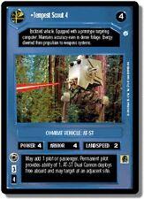 Star Wars CCG Endor DS Rare Tempest Scout 4