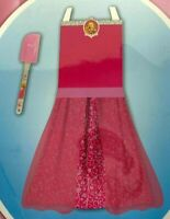 Best Brands Princess Apron Kitchen Set with Matching Spatula NEW