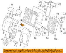 VW VOLKSWAGEN OEM 15-17 GTI Rear Seat-Seat Cover-Center 5GM8861979B9