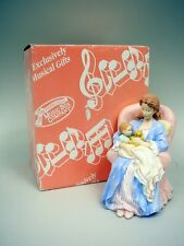 "San Francisco Music Box Co. Musical Figurine Mib - Plays ""You Light Up My Life"""