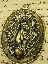 Catholic Bishops Antique Immaculate Conception Philippines Cathedral 1772 Medal