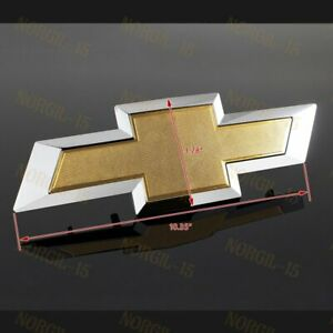 For 2014-2015 GM Chevy Chevrolet Silverado Front Grill Bowtie Emblem #22786809