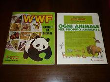 ALBUM FIGURINE WWF Animali da Salvare Ed. PANINI 1986 COMPLETO MENO 37- OTTIMO !