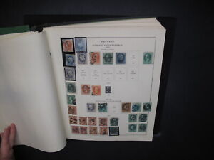 Large US Collection In Scott National Album 1845 - 1956