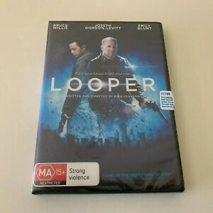LOOPER Bruce Willis & Emily Blunt (DVD, 2014) NEW
