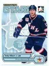 """ANDY HILBERT """"SHOOTING STARS CARD AS-11 AS11"""" HEROES & PROSPECTS"""