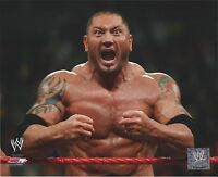 DAVE BATISTA WWE WRESTLING 8 X 10 AUTHENTIC LICENSED PHOTO NEW # 586