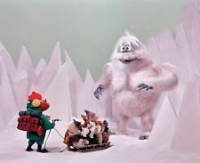 Abominable Snowman Rudolph The Red Nose Reindeer 1964 Movie Tv 8x10 Color Photo