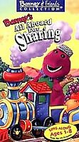 Barney - Barney's All Aboard for Sharing (VHS, 1996)