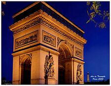 Arc de Triomphe Paris - FRANCE Unused Postcard. NEW