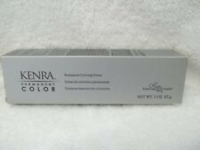 KENRA Permanent Hair Color Cream With Balancing 5 Complex ~ 3 oz ~ Levels 1 -  7