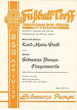 DDR-Liga 80/81 activista negra bomba-Hoyerswerda-motor FH Karl-Marx-Stadt