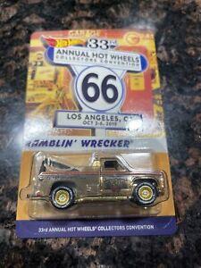 Hot Wheels 33rd Collectors Convention Larry Wood Dinner Car Ramblin Wrecker (1)