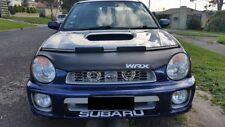 Car Hood Mask Bonnet Bra + WRX LOGO Fits SUBARU IMPREZA 2002 2003 02 03