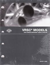 2006 Harley VRSC VRSCA VRSCD VROD V-ROD Part Parts Catalog Manual Book 99457-06