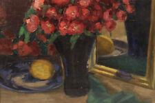 Impressionistisches Blumenstillleben mit Ranunkeln ca. 1910-20 Unbek. Signiert