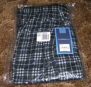 NWT Men's CROFT & BARROW Cotton Flannel Lounge Pajama Bottoms Pants Medium M