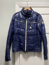 Moncler Barriat (Motorcycle) Down Jacket (Size 3)