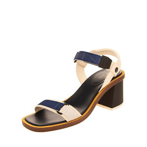RRP€325 PAUL SMITH Leather Slingback Sandals EU 39 UK 6 US 9 Heel Made in Italy