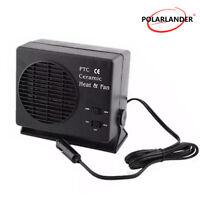 Calefaccion de ceramica Desempañador Ventilador Calefactor Coche 12V 150W/300W