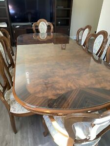 dining table set 8 chairs and China