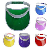 PACK OF 10 SUN VISOR POKER GOLF HAT NEON STAG HEN NIGHTS FANCY DRESS ACCESSORIES