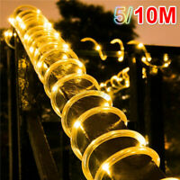 5/10M USB RGB LED Rope Light String 8 Modes Fairy Light String Garden Roo