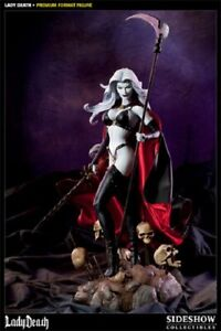 LADY DEATH statue Premium Format Collector Edition – Sideshow Collectibles