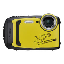 Fujifilm FinePix XP140 16.4MP 4K Digital Camera Yellow Wi-Fi Bluetooth