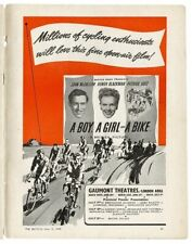 A Boy a Girl and a Bike - DVD - 1949 - John McCallum, Honor Blackman, Diana Dors