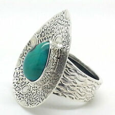 Turquoise Statement Natural Not Enhanced Fine Gemstone Rings