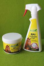 Stiefel RP1 Sprühflasche + Gel - Hochwirksames Insekten-Repellent gegen Bremsen