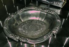 Boxed silver plated sweet dish.