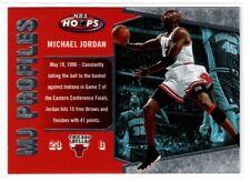 MICHAEL JORDAN BULLS  2006 FLEER NBA HOOPS MJ PROFILES #MJ-27